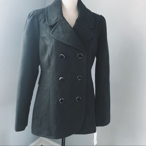Winter Sale❄️Maison Jules double-breasted peacoat